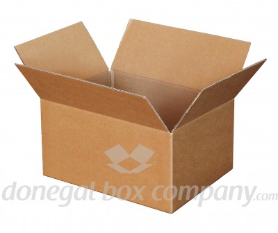 Small Cube Packing Box - cardboard boxes to buy online from Donegal Box Company, Ireland